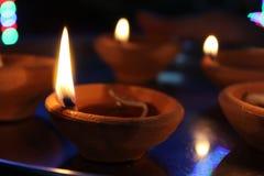 Diwali Lampe Lizenzfreies Stockbild