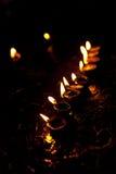 Diwali lampor Royaltyfri Bild