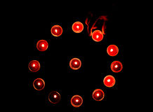 Diwali lamps Royalty Free Stock Photography