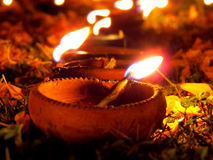 Diwali Lampy obrazy royalty free