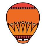 Diwali lantern icon. Over white background, vector illustration vector illustration