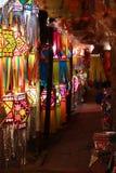 Diwali Lantern Shop Stock Photos