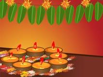 Diwali, le festival des lumières Photo stock
