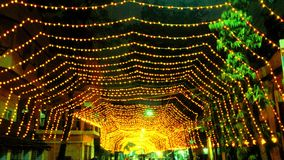 Diwali-Lichter! Stockbilder