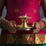 Diwali ljus Fotografering för Bildbyråer