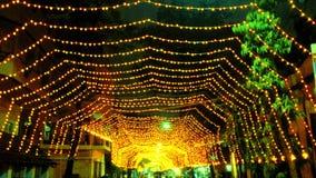 Diwali ljus! Arkivbilder