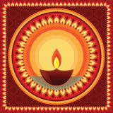 Diwali Mandala. Mandala Design, easily  and elaborate Stock Photo