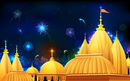 Diwali Night Royalty Free Stock Photo