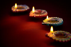 Diwali oil lamp Royalty Free Stock Photography