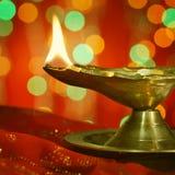 Diwali oil lamp Stock Images