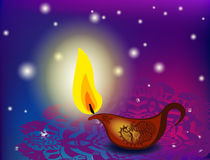 Diwali oil lamps Royalty Free Stock Photo