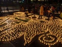 Diwali på Googleplex royaltyfri fotografi