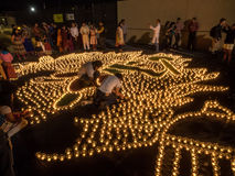 Diwali på Googleplex arkivfoto