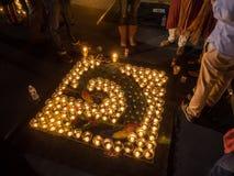 Diwali på Googleplex royaltyfri foto