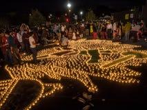 Diwali på Googleplex royaltyfria bilder