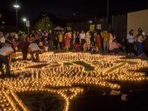Diwali på Googleplex fotografering för bildbyråer