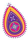 Diwali paisley pattern Stock Photos