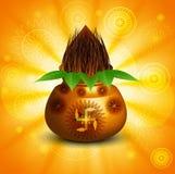 Diwali pooja Beautiful kalash  Royalty Free Stock Photos