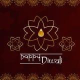 Diwali poster. Happy diwali indian festival of lights poster vector illustration