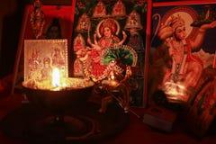 Diwali Puja fotos de archivo