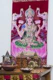 Diwali Puja Imágenes de archivo libres de regalías