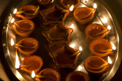 Diwali Puja Royalty Free Stock Photography