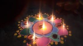 Diwali Rangoli foto de stock royalty free