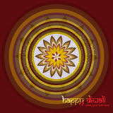 Diwali rangoli culture Art colorful pattern  Stock Images
