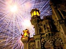 Diwali real Fotografía de archivo
