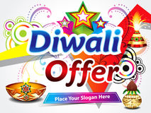 Diwali sale background Royalty Free Stock Image