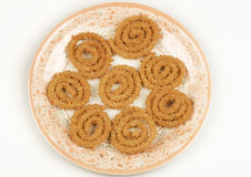 Diwali SNACKS CHAKLI Royalty Free Stock Image