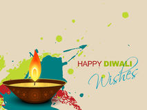 Diwali splashes stock illustration