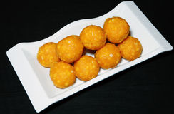 Diwali sweets ladoo Royalty Free Stock Photography