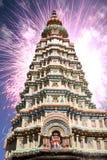 Diwali Tempel Stockbild