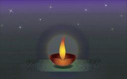 Diwali Three redu Royalty Free Stock Images