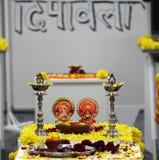 Diwali tradition Royaltyfri Fotografi