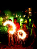 Diwali variopinto Fotografia Stock