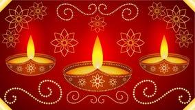 Diwali Wallpaper Background. Vector Illustration stock illustration