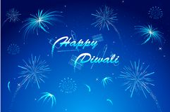 Diwali Wish royalty free illustration