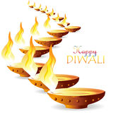Diwali wishes. Illustration of Diwali (or Deepavali, the festival of lights) is an ancient Hindu festival celebrated in autumn (northern hemisphere) every year stock illustration