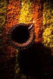 Diwalidiya of auspecious die olielamp uit teracotta wordt samengesteld Royalty-vrije Stock Afbeeldingen