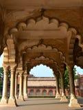 Diwan-ι-AM του οχυρού Agra στοκ εικόνες