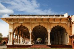 Diwan-E-Aam at Agra Fort, Agra, Uttar Pradesh, India Royalty Free Stock Photography