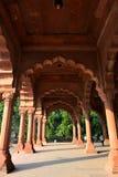 Diwan-E-Aam im roten Fort, Neu-Delhi Stockfoto