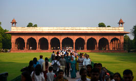 Diwan-E-Aam in Red Fort, New Delhi Royalty Free Stock Images