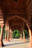 Diwan-E-Aam in Red Fort, New Delhi Stock Photo
