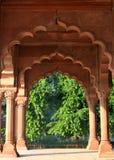 Diwan-e-Aam in Rood Fort, New Delhi Stock Afbeeldingen