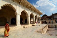 Diwan-e-Khas, Agra Fort. Agra, Uttar Pradesh. India Royalty Free Stock Photo