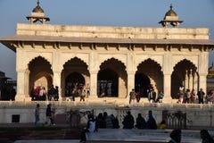 Diwan-E-Khas, Agra fort, Agra, Uttar Pradesh, India Obrazy Stock