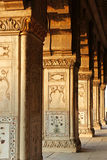Diwan E Khas budynku filary Obrazy Royalty Free
